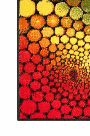 Covor Modern, Kolibri Multicolor 11056, 80x150 cm, 2300 gr/mp3