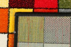Covor Kolibri Patratele 11161-130, Multicolor, 80x150 cm, 2300 gr/mp8