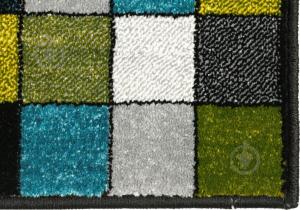 Covor Kolibri Patratele 11161-130, Multicolor, 80x150 cm, 2300 gr/mp5