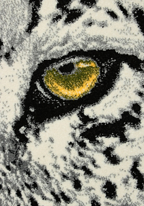 Covor Modern, Kolibri Tigru, 11368-190, 80x150 cm, 2300 gr/mp [3]