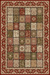 Covor Modern, Lotos 1518, Rosu, 250x350 cm, 1800 gr/mp0