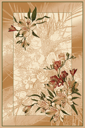 Covor Modern, Lotos 1563, Crem / Bej, 80x150 cm, 1800 gr/mp [0]