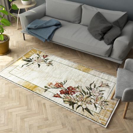 Covor Modern, Lotos 1563, Crem / Bej, 80x150 cm, 1800 gr/mp [1]