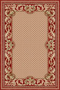 Covor Clasic, Lotos 1568, Rosu, 200x300 cm, 1800 gr/mp [0]