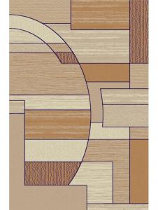 Covor Modern, Lotos 538, Bej, 80x200 cm, 1800 gr/mp [0]