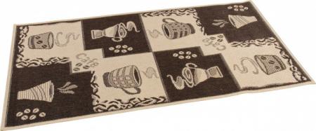 Covor pentru bucatarie, Natura Coffee, 100x200 cm, 1500 gr/mp1