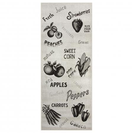 Covor pentru bucatarie, Natura Fruits and Veggies, 120x170 cm, 1500 gr/mp, [3]