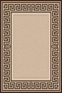 Covor Modern, Natura Versace, 900-19, Bej / Maro, 80x150 cm, 1500 gr/mp0