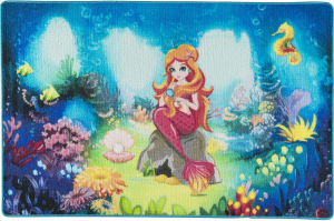 Covor Pentru Copii, Antiderapant, Mica Sirena, 1275 gr/mp0