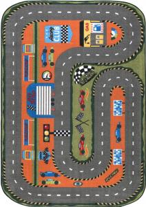 Covor Pentru Copii, Antiderapant, Race Club, 1632 gr/mp [0]