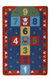 Covor Pentru Copii, Antiderapant, Sotron, Multicolor, 100x150 cm, 1282 gr/mp0