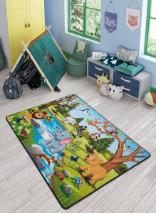 Covor Pentru Copii, Antiderapant, Spring Time, 1275 gr/mp1