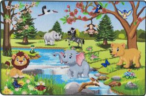 Covor Pentru Copii, Antiderapant, Spring Time, 1275 gr/mp0