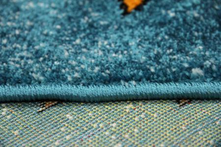 Covor Pentru Copii, Kolibri Animalute 11058, Albastru, 240x340 cm, 2300 gr/mp7