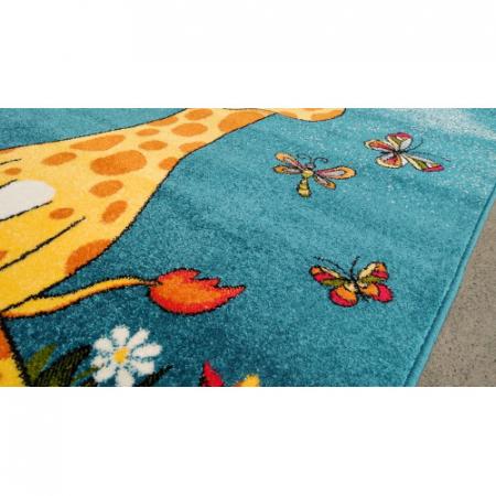 Covor Pentru Copii, Kolibri Girafa 11112, 80x150 cm, 2300 gr/mp3