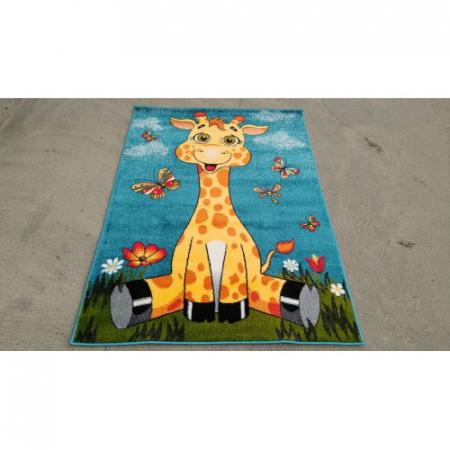 Covor Pentru Copii, Kolibri Girafa 11112, 80x150 cm, 2300 gr/mp1