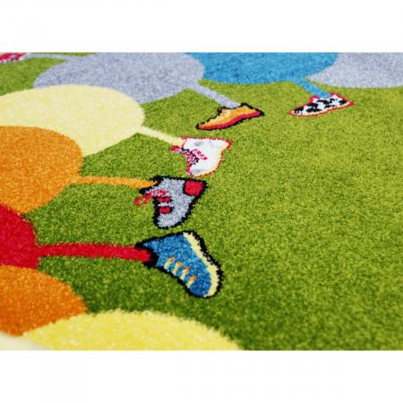 Covor Pentru Copii, Kolibri Omida 11057, Verde, 80x150 cm, 2300 gr/mp [5]