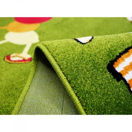 Covor Pentru Copii, Kolibri Omida 11057, Verde, 80x150 cm, 2300 gr/mp [6]