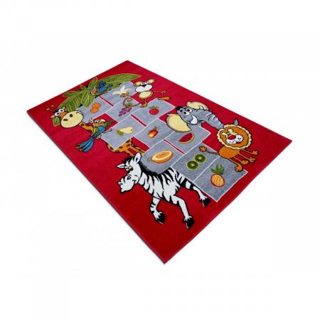 Covor Pentru Copii, Kolibri Sotron 11120, Rosu [3]