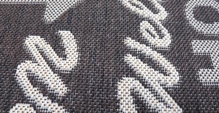 Covor Pentru Usa Intrare, Flex 19504-91, Antiderapant, Maro, 50x80 cm2