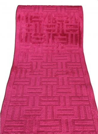 Traversa Antiderapanta Delta, 14074, Rosie, 80x500 cm0