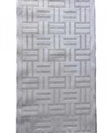 Traversa Antiderapanta Delta, 14047, Gri, 80x400 cm1