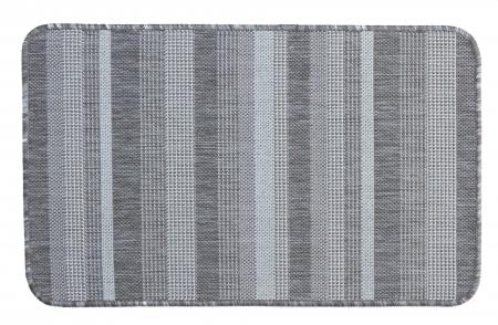 Covor Pentru Usa Intrare, Flex 19610-111, Antiderapant, Maro/Bej, 50x80 cm [0]