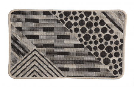 Covor Pentru Usa Intrare, Flex 19608-19, Antiderapant, Maro, 50x80 cm [0]