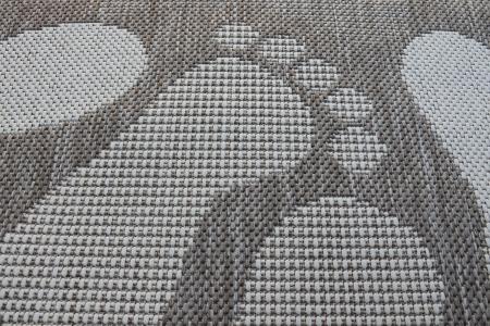 Covor Pentru Usa Intrare, Flex 19614-111, Antiderapant, Maro/Bej, 50x80 cm [2]