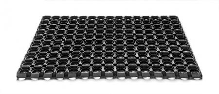 Covor Antiderapant Pentru Intrare, Domino 16, Negru, 50x80 cm [1]