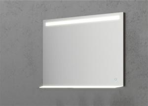 Oglinda cu Iluminare si Polita Iluminata, GenesIs, 800x800x4 mm [0]
