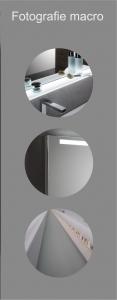 Oglinda cu Iluminare si Polita Iluminata, GenesIs, 800x800x4 mm [5]