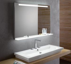 Oglinda cu Iluminare si Polita Iluminata, GenesIs, 800x800x4 mm [7]