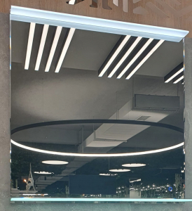 Oglinda cu Iluminare si Polita Iluminata, Spectra Plus, 800x900x4 mm [7]