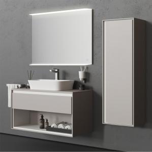 Oglinda cu Iluminare si Polita Iluminata, Spectra Plus, 800x600x4 mm2