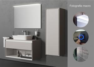 Oglinda cu Iluminare , Spectra, 800x1000x4 mm [8]