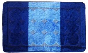 Set 2 covorase baie Edremit D. Blue, 60x100 cm, 50x60 cm0