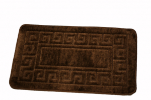 Set 2 covorase baie Ethnic Brown, 50x80 cm, 40x50 cm0