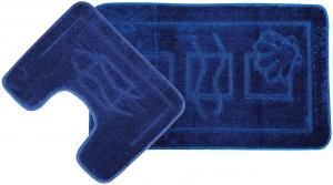 Set 2 covorase baie Maritime Dark Blue, 60x100 cm, 50x60 cm0