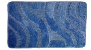 Set 2 covorase baie Symphony Blue, 60x100 cm, 50x60 cm0