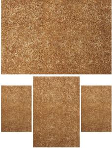 Set 4, Covoare Fantasy 12500-12, Maro Deschis, 2 buc 60x110 cm, 1 buc 120x170 cm, 1 buc 200x300 cm0
