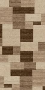 Traversa Covor, Daffi 13027-140,  Bej/Maro, 100x400 cm, 1700 gr/mp0