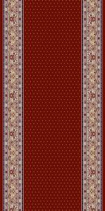 Traversa Covor, Lotos 588, Rosu, 60x700 cm, 1800 gr/mp0