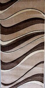 Traversa Daffi 13001-120, Bej / Maro, 80x300 cm, 1700 gr/mp1