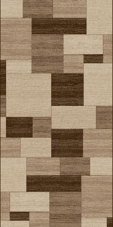 Traversa Covor, Daffi 13027-140, Bej/Maro, 60x300 cm, 1700 gr/mp0