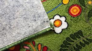 Traversa Flori, Verde, 100x400 cm, 820 gr/mp [2]