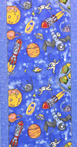Traversa pentru Copii, Cosmos 1126, Albastru, 100x700 cm, 820 gr/mp0