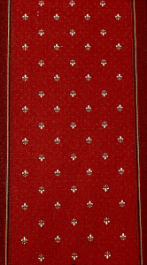 Traversa Tesatura Plata 1835, Rosu, 100x600 cm, 820 gr/mp7