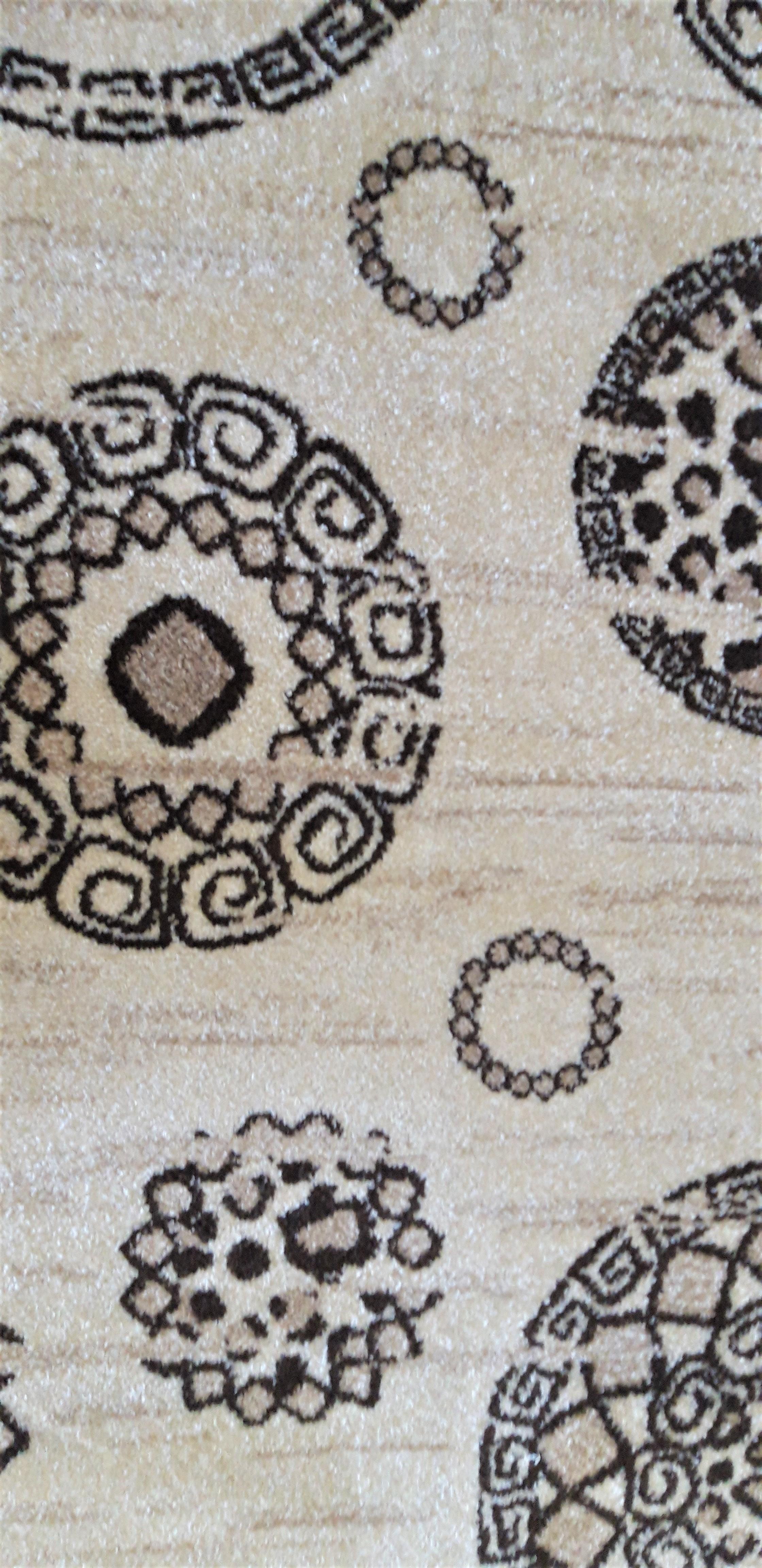 Covor Modern, Daffi 13041, Bej, Oval, 80x150 cm, 1800 gr/mp [5]