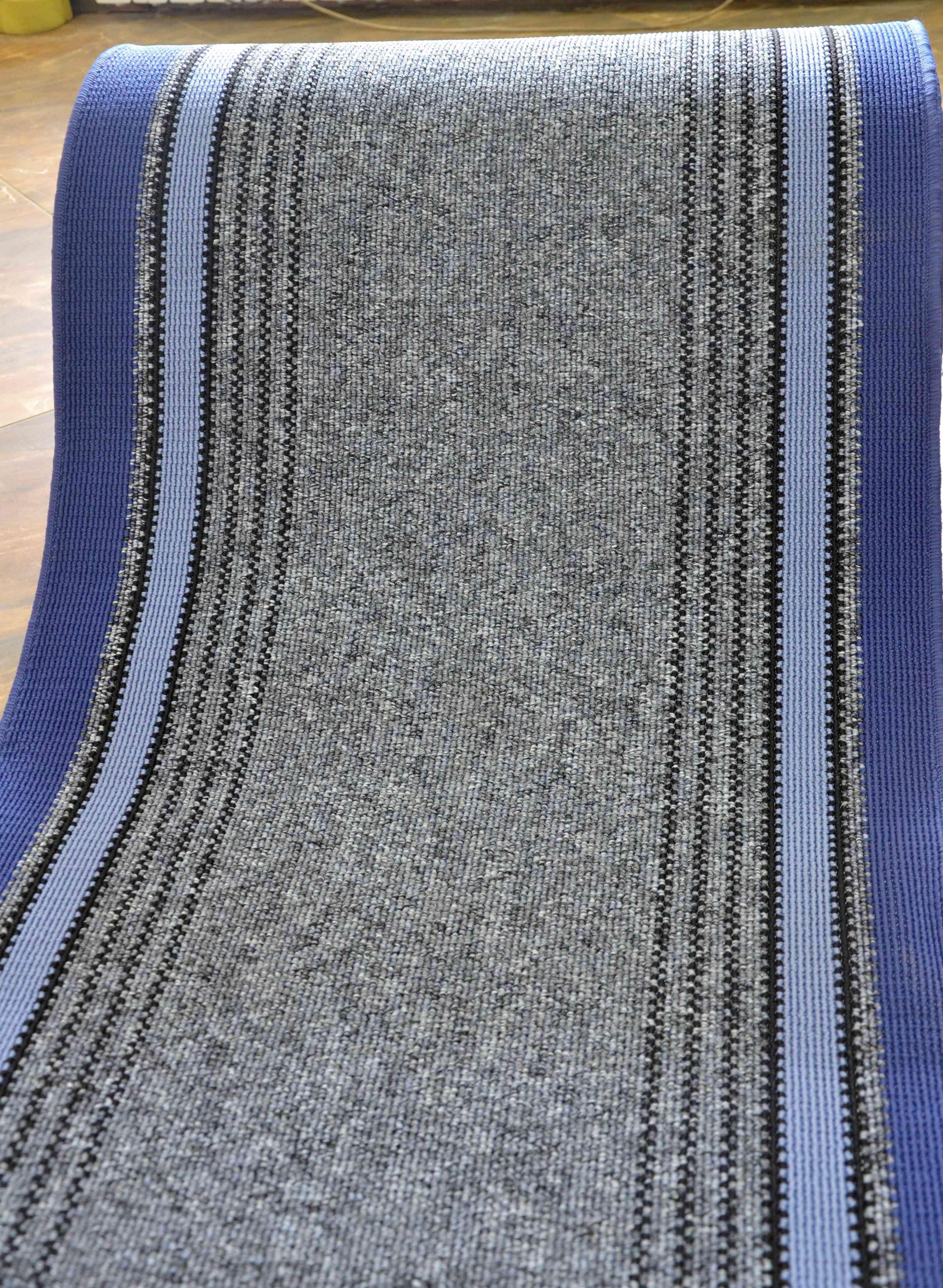 Traversa Covor, Saba 08, Albastru, 100x1000 cm, 1350 gr/mp, 1x10 m 3